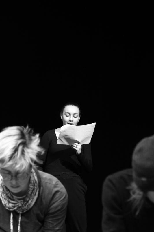 La Troupe éphémère ©Alexia Pereira - photo de répétition